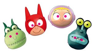 Masques déguisement SamSam