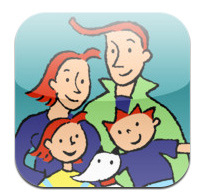 Appli - La famille Oukilé en week-end (iPad)