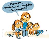 15 activités pour occuper les enfants à la maison - Supplément parents Pomme d'Api - Mars 2014 - Illustrations Robin