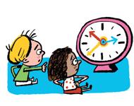 Et si on cultivait la patience avec nos enfants ? Texte Anne Bideault - Illustrations Pierre Fouillet - Supplément au n°578 de Pomme d'Api, avril 2014