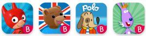 Découvrez les autres Apps enfants du groupe Bayard