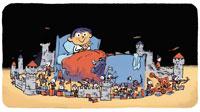 """Pomme d'Api pour les parents - """"J'ai peur des cauchemars"""" - Supplément au n° 585 de Pomme d'Api, novembre 2014 - Illustrations : Robin"""