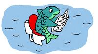 Pourquoi il faut souvent remettre de la crème solaire ? Illustrations : Régis Faller.