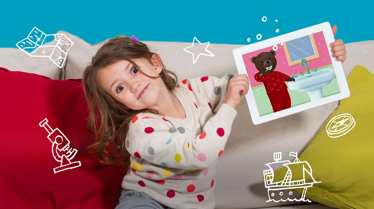 Bayam, la première expérience numérique pour les enfants