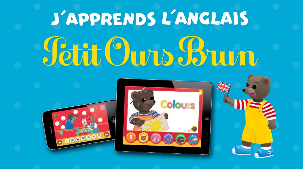 Appli - J'apprends l'anglais avec Petit Ours Brun