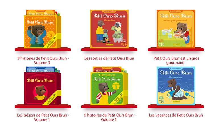 Découvrez les histoires de Petit Ours Brun en numérique ! © Danièle Bour