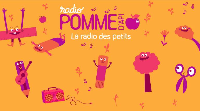 Radio Pomme d'Api, la radio des petits !