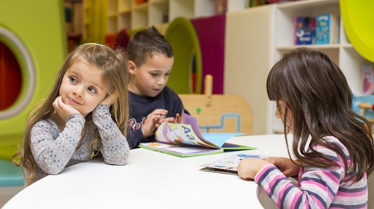 Ce qu'apporte l'école maternelle © Fotolia