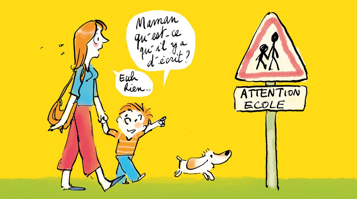 La rentrée en maternelle en 10 questions-réponses - Illustration Robin