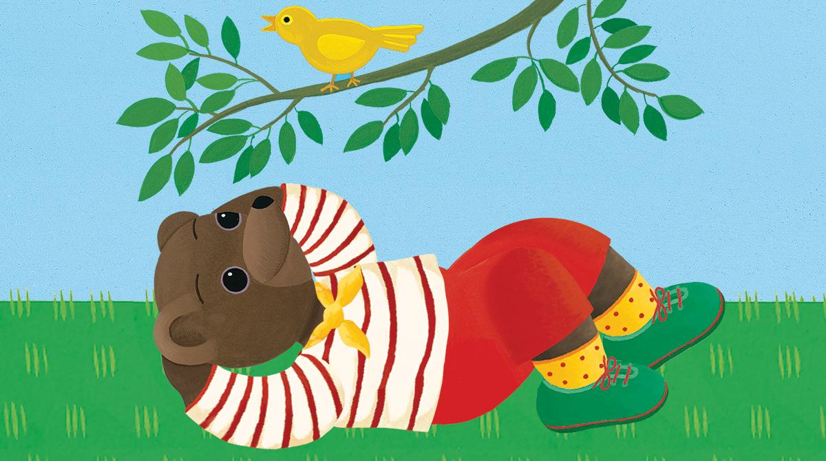 Qui est Petit Ours Brun ? Illustration Danièle Bour