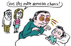 """""""Allez au lit! Enquête au pays du sommeil"""", supplément pour les parents du magazine Pomme d'Api, octobre 2016. Texte: Anne Bideault, illustrations: Muzo."""