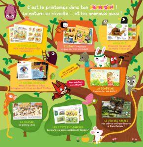 sommaire Pomme d'Api avril 2012 n° 554