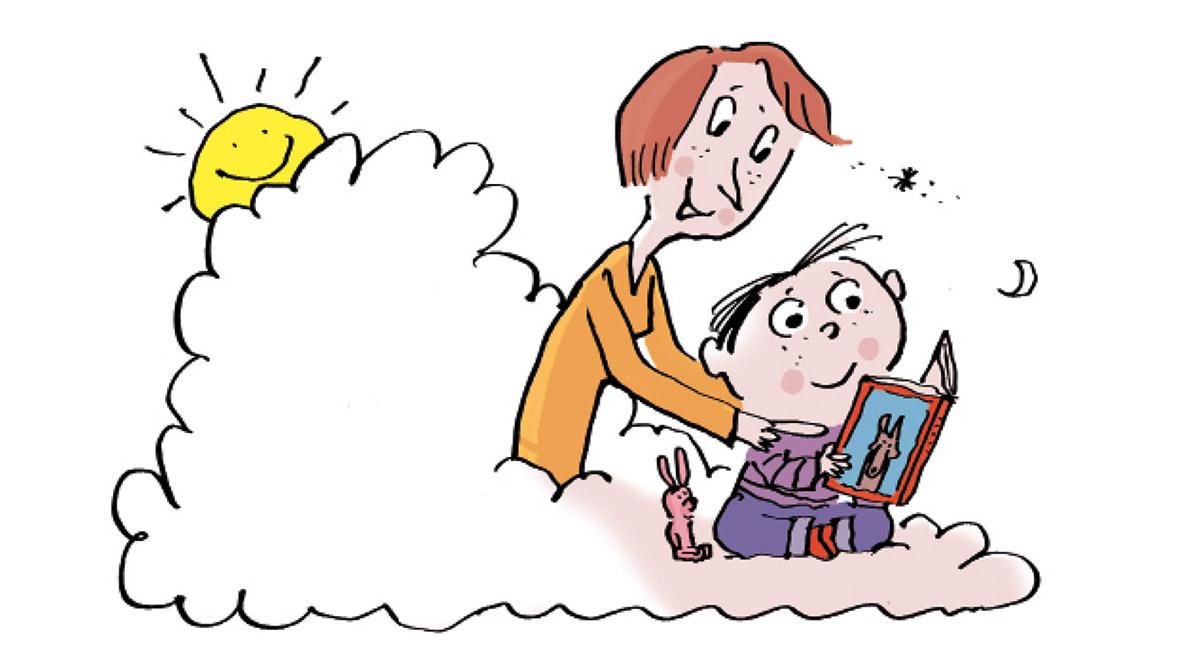 Comment aider mon enfant à trouver son calme ? Illustration : Pascal Lemaître