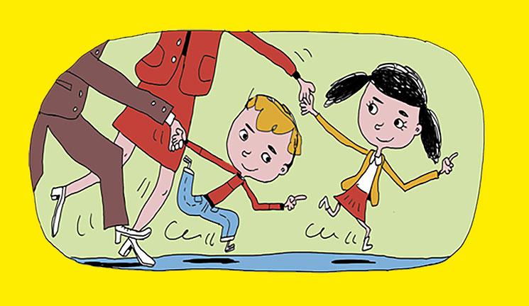 Que nous apprennent nos enfants ? Illustration : Pierre Fouillet