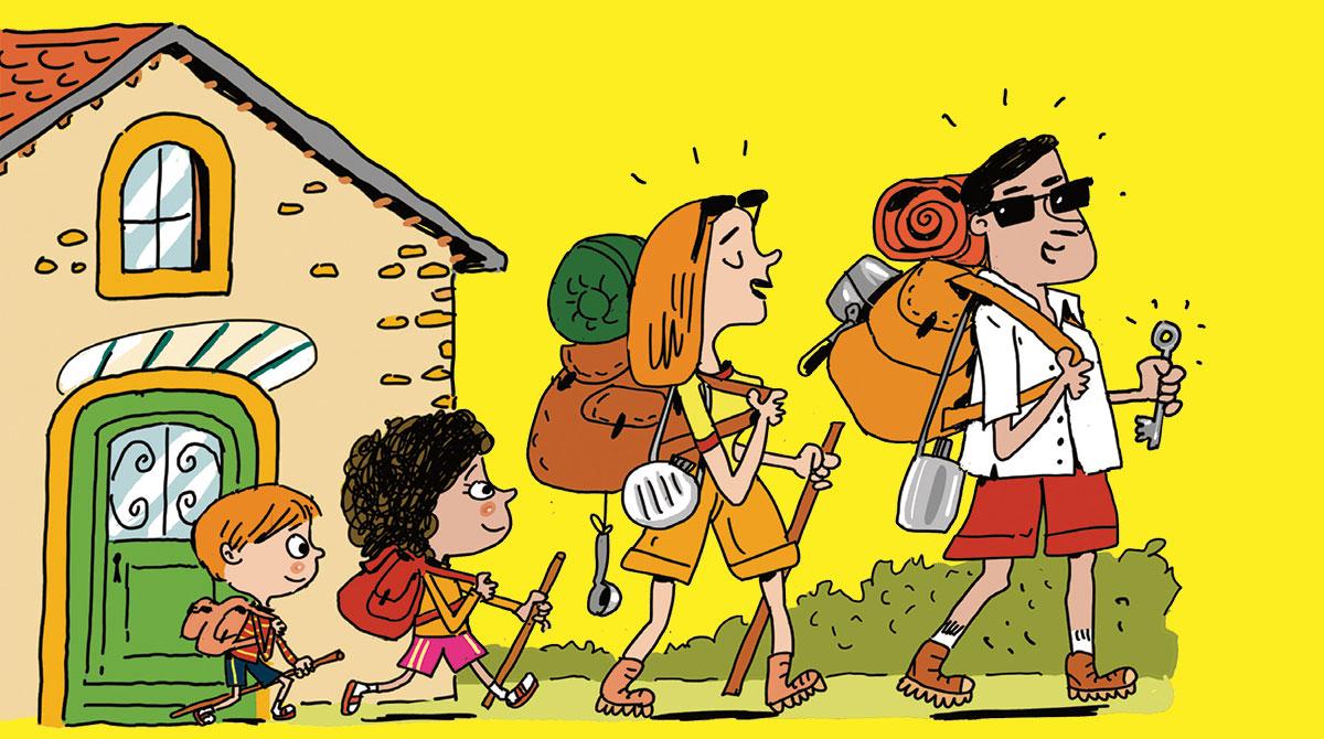 Vacances : l'aventure, c'est partout ! Illustrations : Pierre Fouillet
