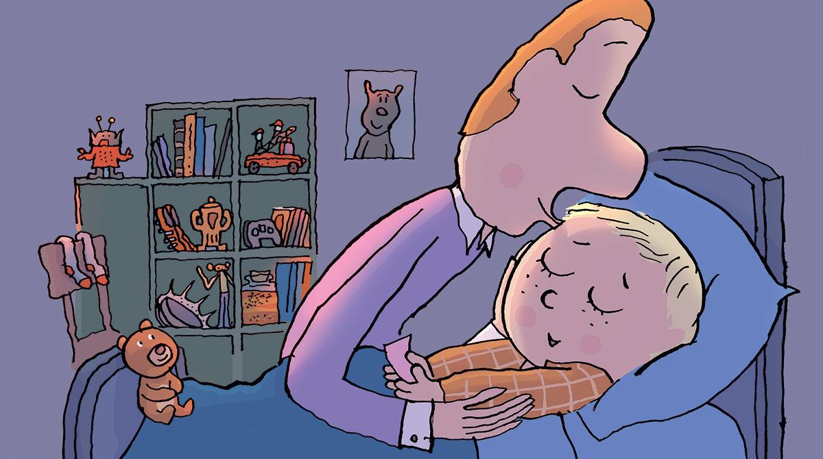 Permis de dormir. Illustration : Pascal Lemaître