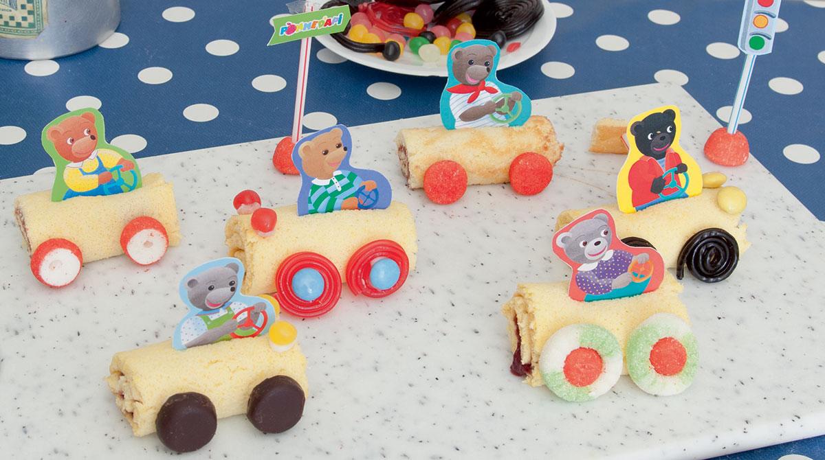 Recette pour enfant : les goûters qui roulent ! Photo : Isabelle Franciosa