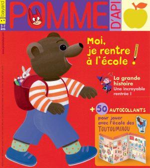 Pomme d'Api, septembre 2017, n° 619. Illustration : Danièle Bour.
