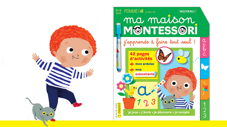 Ma maison Montessori, le nouveau magazine pour apprendre autrement