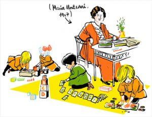 Pour en savoir plus sur la pédagogie de Maria Montessori