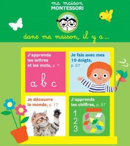 """Au sommaire du premier numéro de """"Ma maison Montessori"""""""