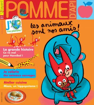 Pomme d'Api, mai 2018, n° 627. Illustration de couverture : Serge Bloch.