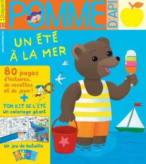 Pomme d'Api, juillet 2018, n° 629. Illustration de couverture : Danièle Bour.