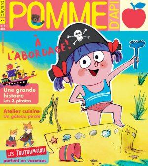 Pomme d'Api, août 2018, n° 630. Illustration de couverture : Fred Benaglia