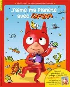 Couverture du livret SamSam J'aime ma planète