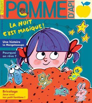 Pomme d'Api, novembre 2018, n° 633. Illustration de la couverture : Fred Benaglia.