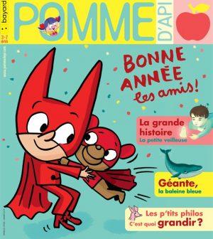Pomme d'Api, janvier 2019, n° 635. Illustration de la couverture : Serge Bloch.