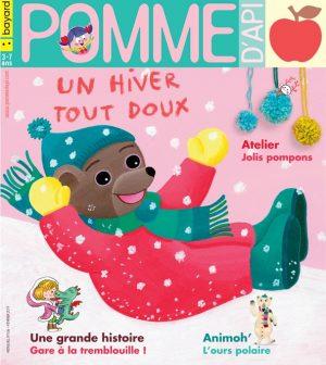 Pomme d'Api, février 2019, n° 636. Illustration de la couverture : Danièle Bour..