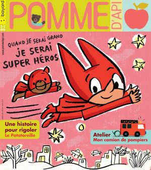 Pomme d'Api, mai 2019, n° 639. Illustration de la couverture : Danièle Bour