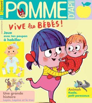 Pomme d'Api, juin 2019, n° 640. Illustration de la couverture : Fred Benaglia