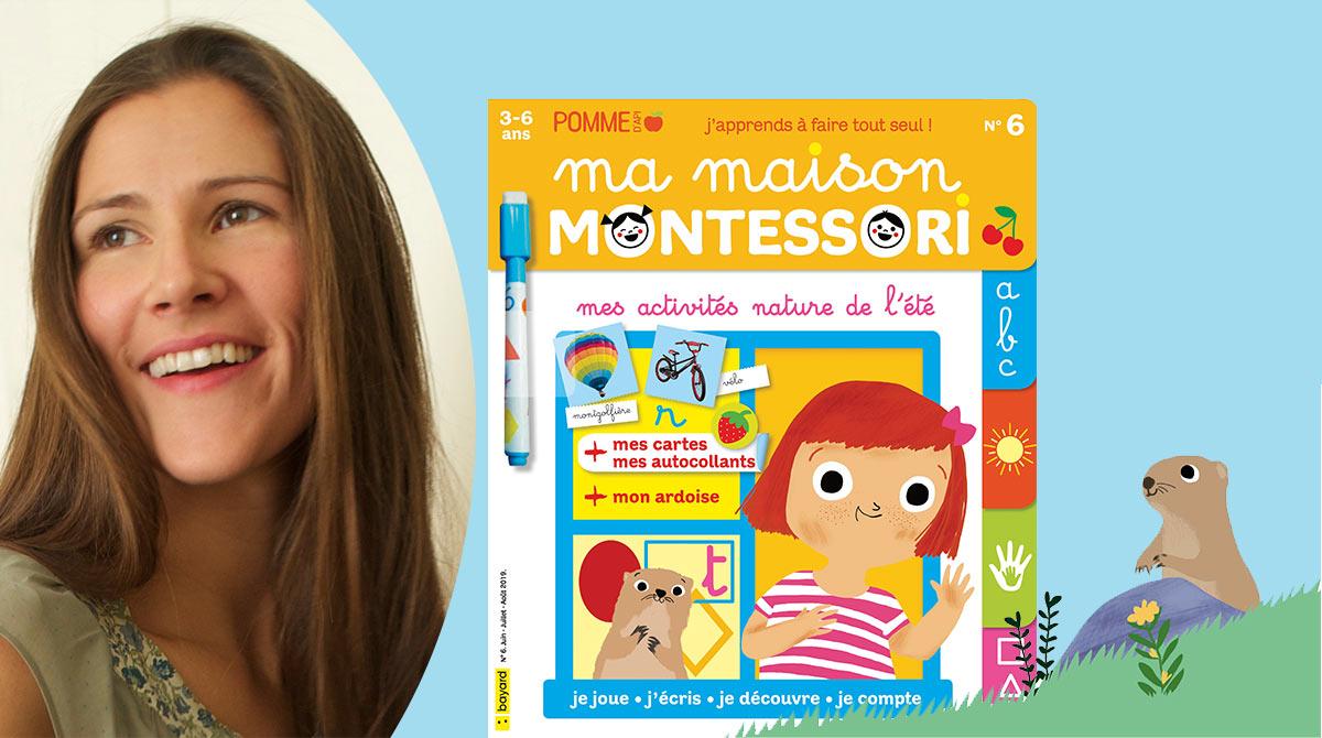 Confiance en soi: comment aider son enfant? Charlotte Poussin - Magazine Ma maison Montessori