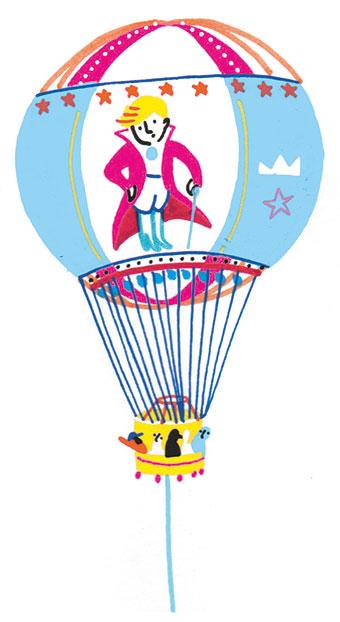 """""""Le tour de France des idées de sorties"""", supplément pour les parents du magazine Pomme d'Api n° 641, juillet 2019. Texte : Joséphine Lebard. Illustrations : Camille de Cussac."""