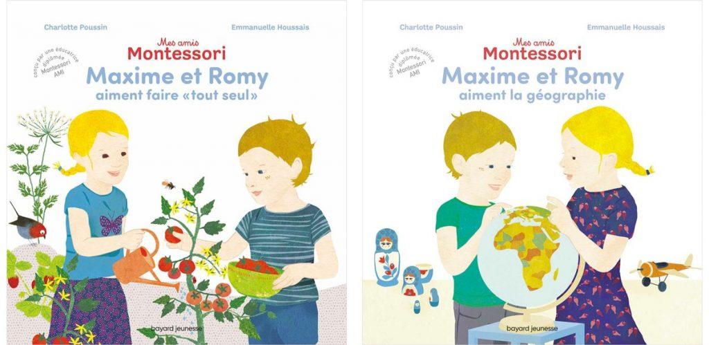 Mes amis Montessori, éditions Bayard jeunesse. Charlotte Poussin, Emmanuelle Houssais