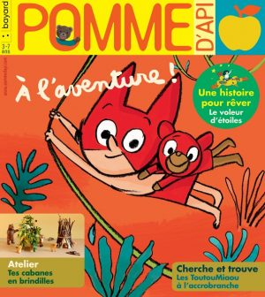 Couverture du magazine Pomme d'Api, août 2019, n° 642.