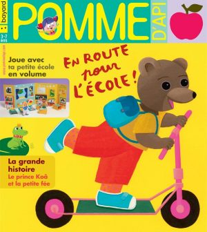 Couverture du magazine Pomme d'Api, n°643, septembre 2019