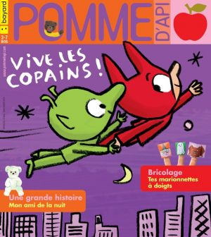 Couverture du magazine Pomme d'Api, n°645, novembre 2019