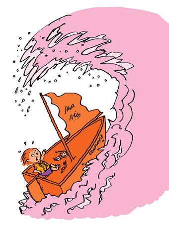 """""""Le monde secret de l'enfance"""", supplément pour les parents du magazine Pomme d'Api n°645, novembre 2019. Texte : Anne Bideault. Illustrations : Pascal Lemaître."""