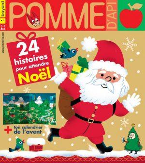 Couverture du magazine Pomme d'Api, n°646, décembre 2019