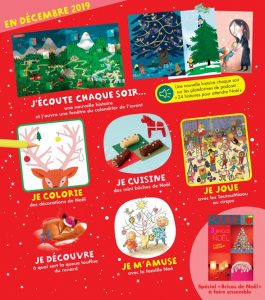 Sommaire du magazine Pomme d'Api et son supplément pour les parents, n°646, décembre 2019