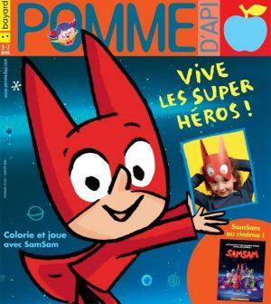 Couverture du magazine Pomme d'Api, n°647, janvier 2020