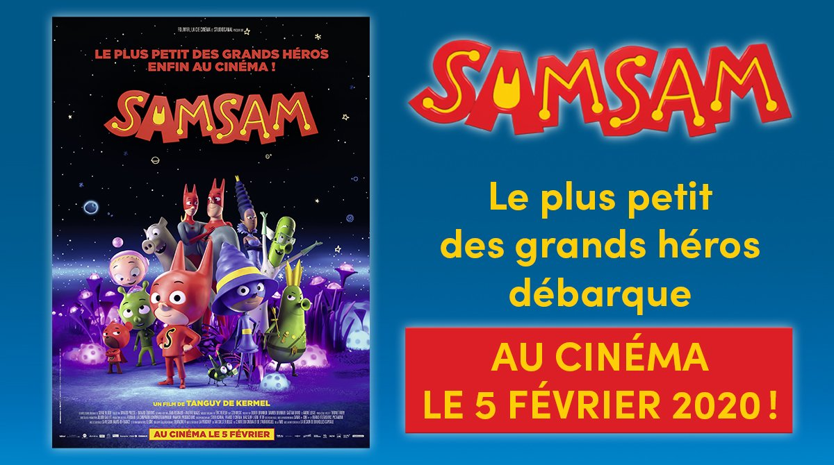 SamSam débarque au cinéma le 5 février!