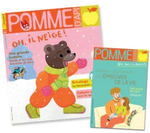 Couverture du magazine Pomme d'Api et son supplément pour les parents, n°648, février 2020