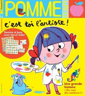 Couverture du magazine Pomme d'Api, n°649, mars 2020