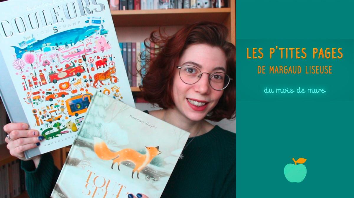 """En mars, Margaud Liseuse et Pomme d'Api vous conseillent deux livres pour les 3-6 ans : """"Le plus beau livre des couleurs"""" de Tom Schamp (éd. Albin Michel) et """"Tout seul"""" de Rosemary Shojaie (éd. Didier Jeunesse)."""