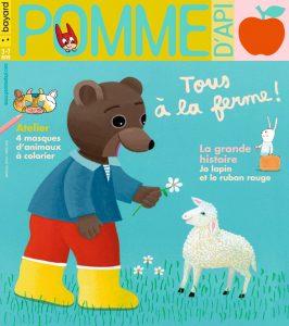 Couverture du magazine Pomme d'Api, n°650, avril 2020