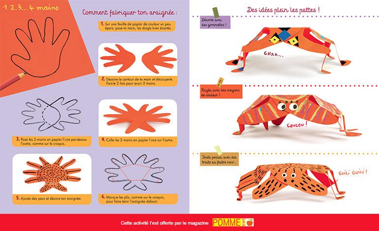 Bricolage : comment fabriquer son araignée n°609 - Pomme d'Api